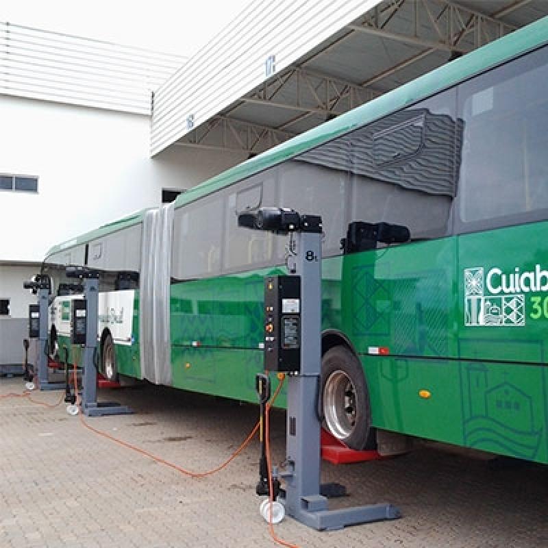 Colunas Móvel de Elevação para ônibus Articulado e Bi-articulado Pelotas - Coluna Móvel de Elevação para Manutenção