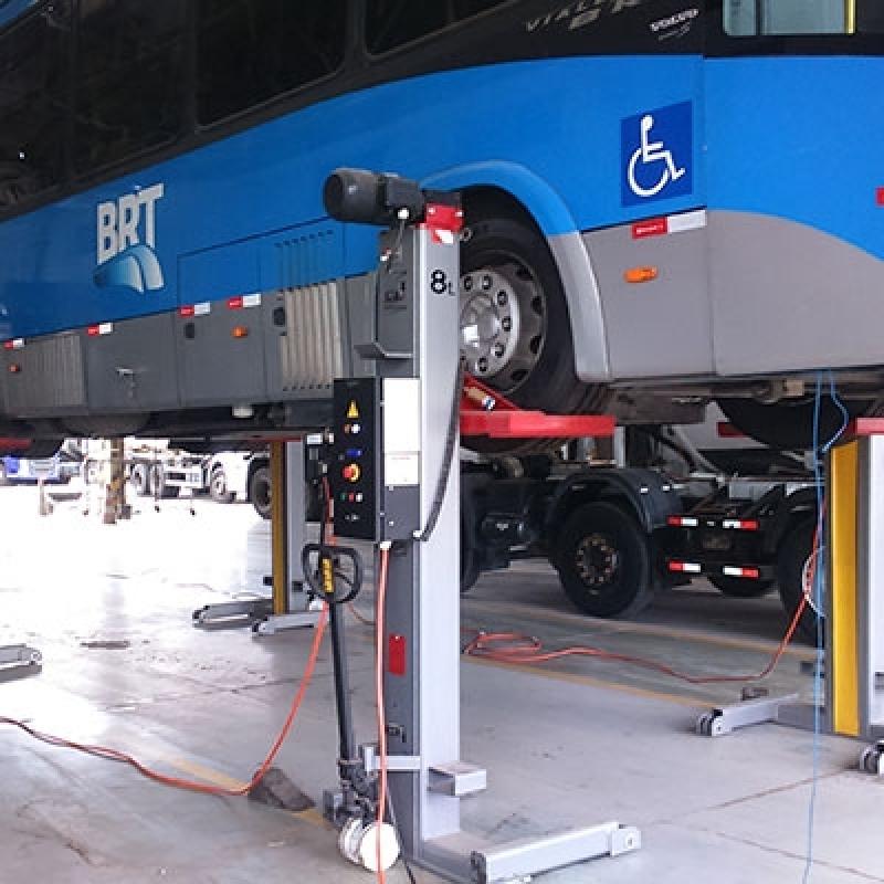 Empresa de Coluna Móvel de Elevação para ônibus Articulado e Bi-articulado Maringá - Coluna Móvel de Elevação para Manutenção