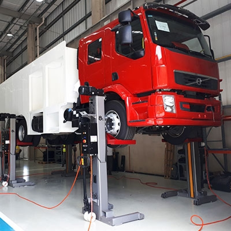 Onde Encontrar Elevador de Caminhão para Manutenção São Sebastião - Elevador Caminhão para Oficina