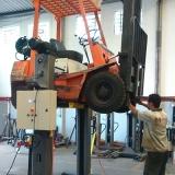 coluna de elevação para manutenção de empilhadeira Mauá