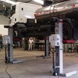 coluna de elevação para veículos pesados
