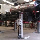 colunas de elevação para caminhões Corumbá