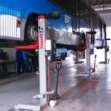 coluna móvel de elevação veículos pesados