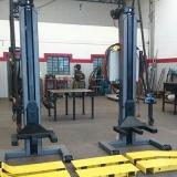 colunas móvel de elevação para manutenção de empilhadeira Juiz de Fora