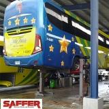 colunas móvel de elevação para ônibus Itajaí