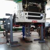 plataforma elevatória hidráulica para caminhão