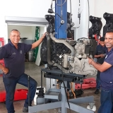 plataformas hidráulica remoção de motor Araçatuba